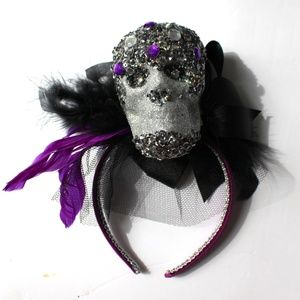 Other - Halloween Headband Veil Gothic Lights Up & Flashes